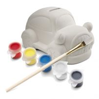 Paint Your Own Car Money Box